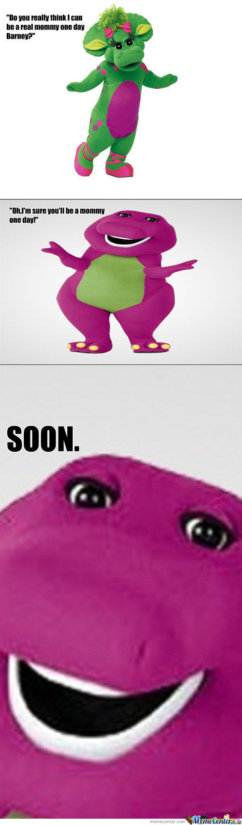 The Evil Barney