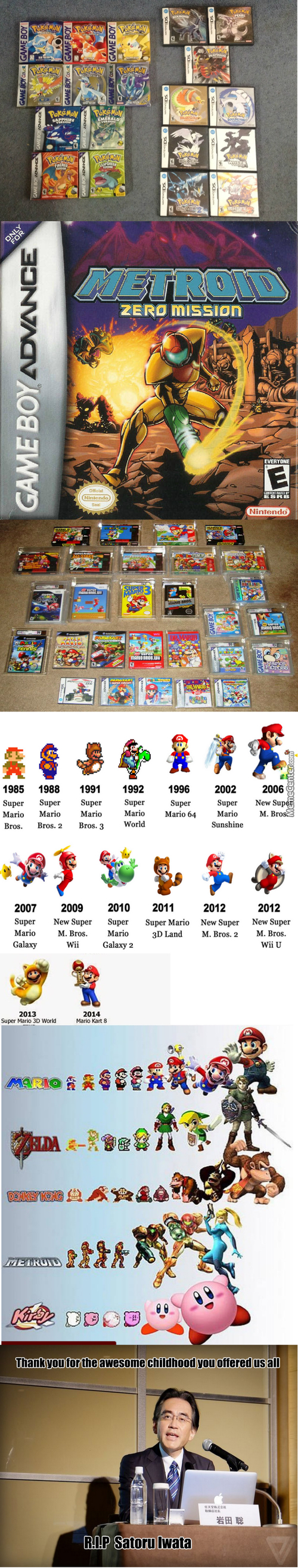 The Evolution Of Nintendo In Memory Of Satoru Iwata (2002-2015)