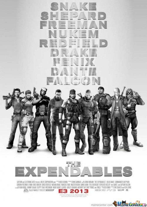 The Expendables:gamers Version
