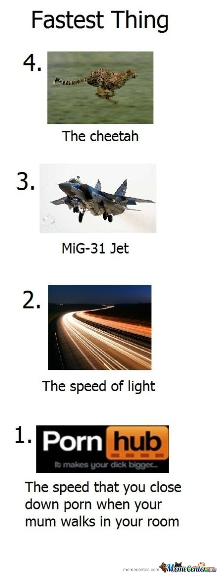 The Fastest Things