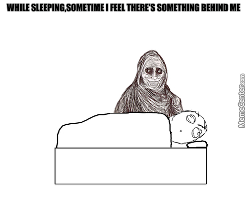The Feeling When You Are Trying To Sleep