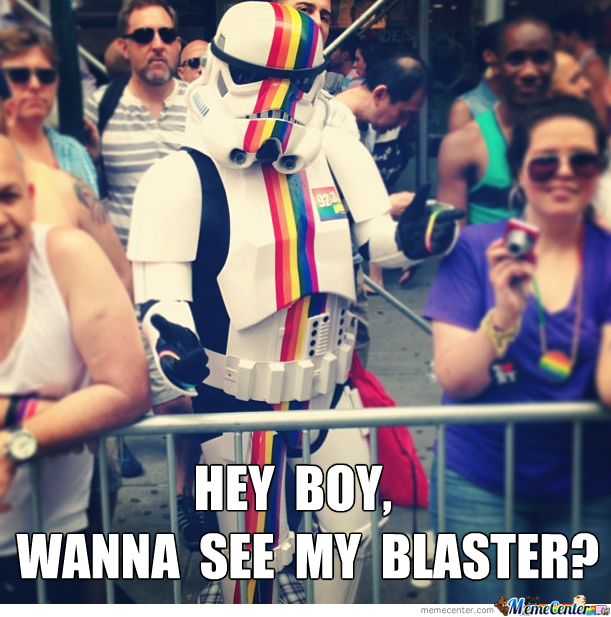 The First Openly Gay Stormtrooper