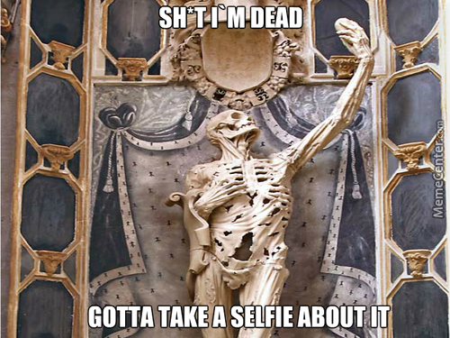 The First Selfie After Death