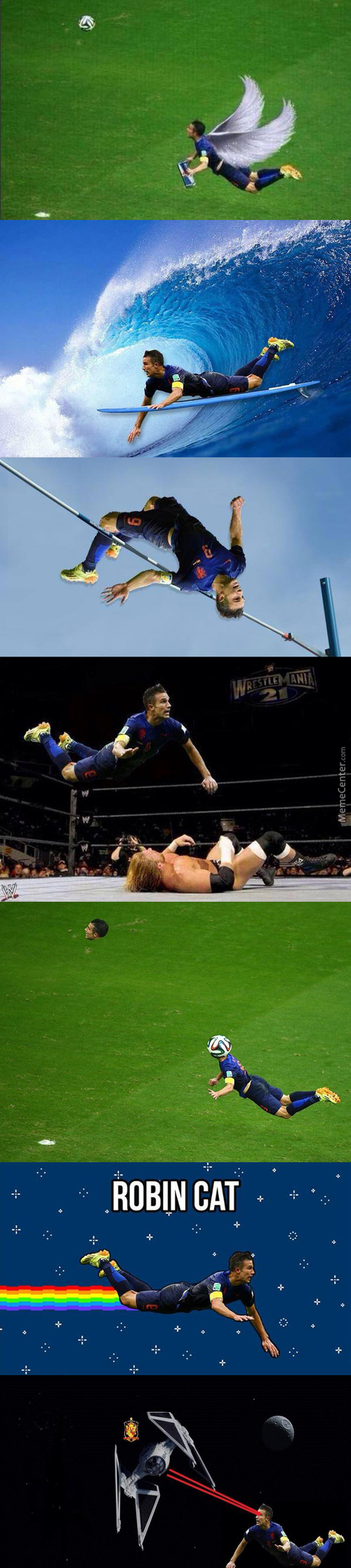 The Flying Dutchman : Robin Van Persie
