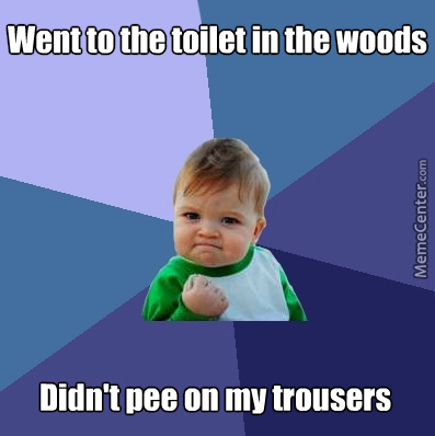 The Forest Is My Lavatory