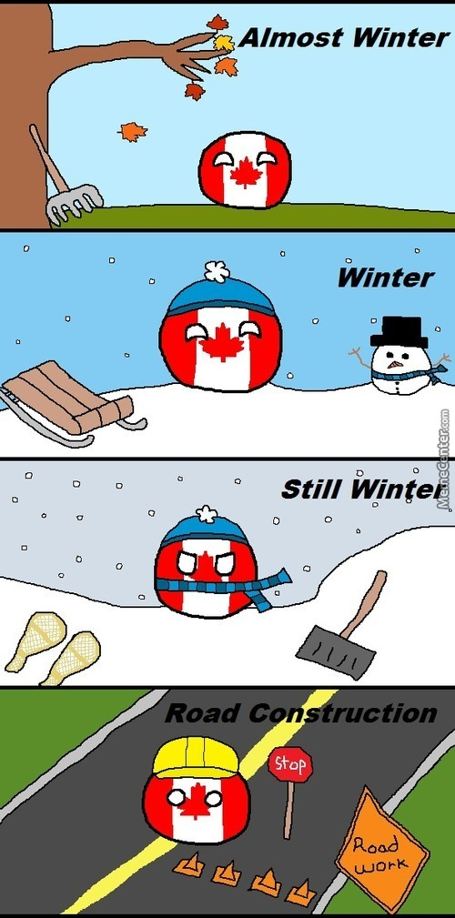 The Four Seasons Of Canada