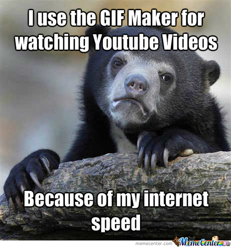 The Gif Maker Is Way Faster