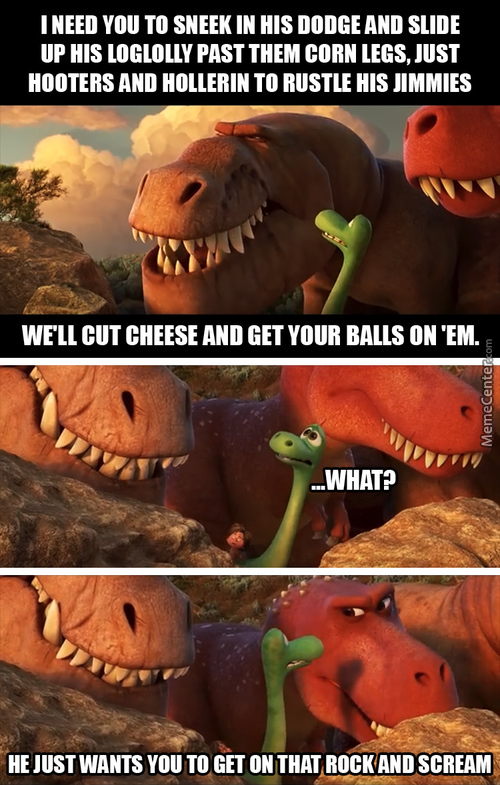 The Good Dinosaur Gone Bad