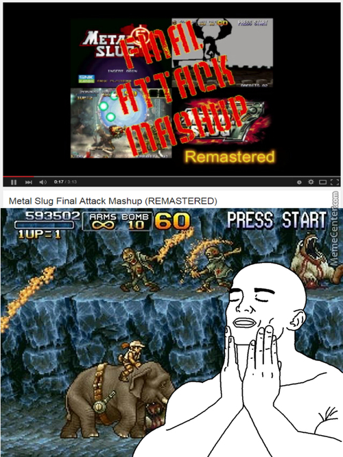 The Good Ol' Days When People Line Up Just To Play Metal Slug On Arcade