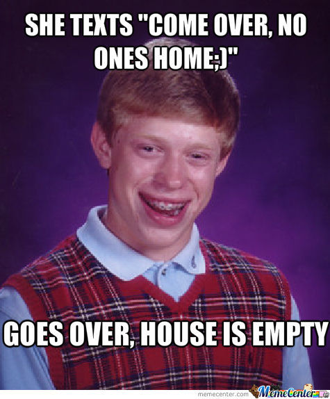 The House Was Empty