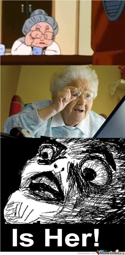The Internet Grandma