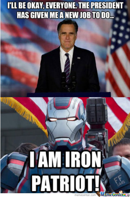 The Iron Patriot......