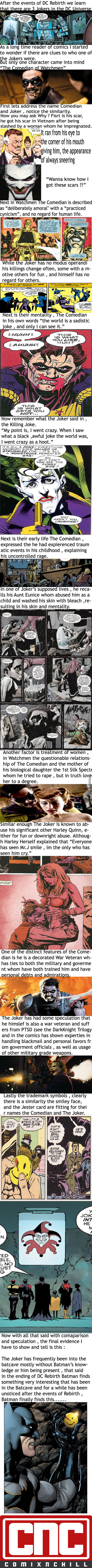 The Joker Is The Comedian Theory Or Comparison