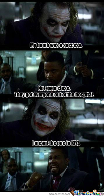 The Joker Is Too Evil.