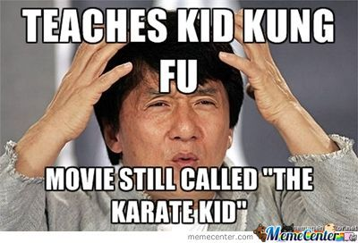 The Kung Fu Kid?