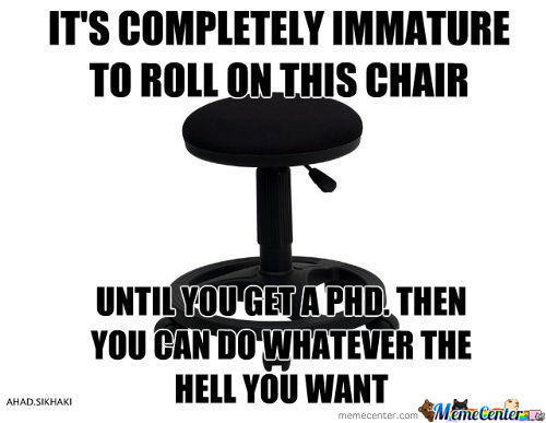 The Law Of Rolly Chairs