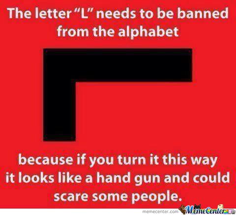 The Letter L Should Be Removed