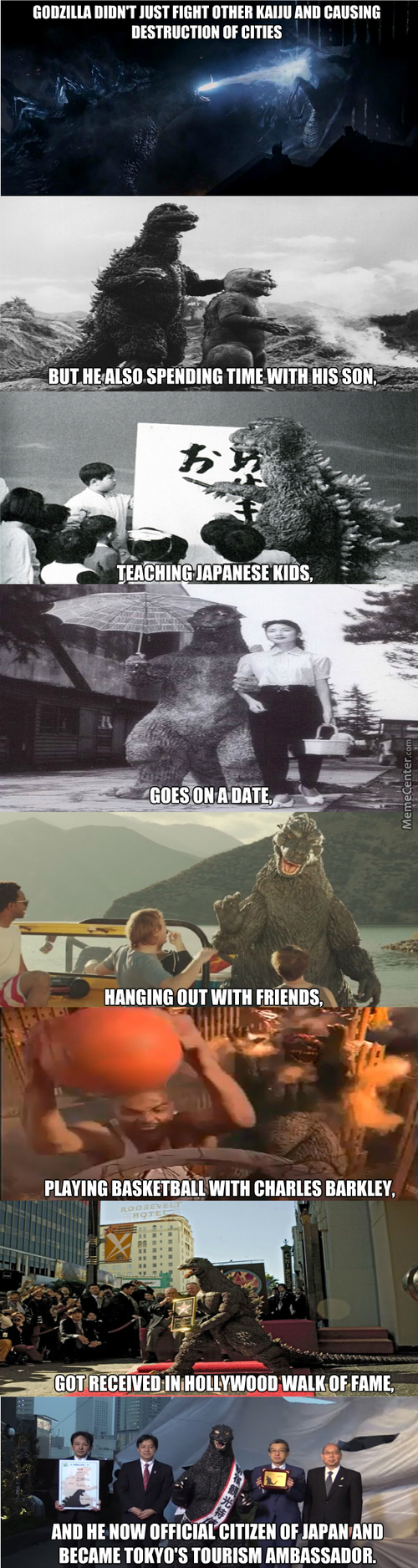The Life And Times Of Godzilla (Long Post)
