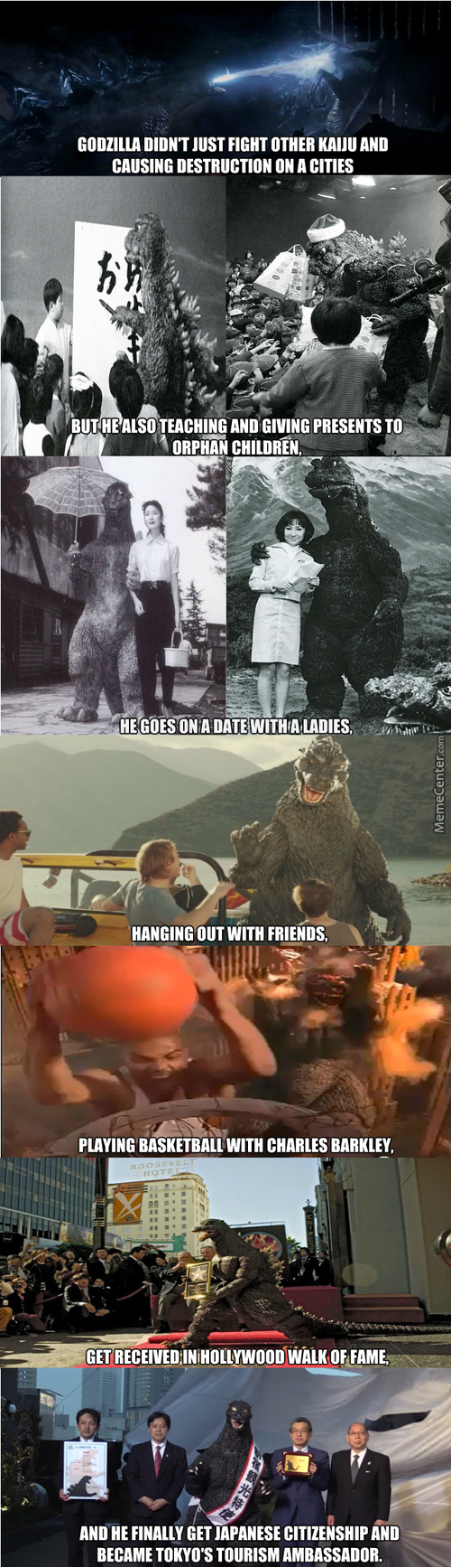 The Life And Times Of Godzilla