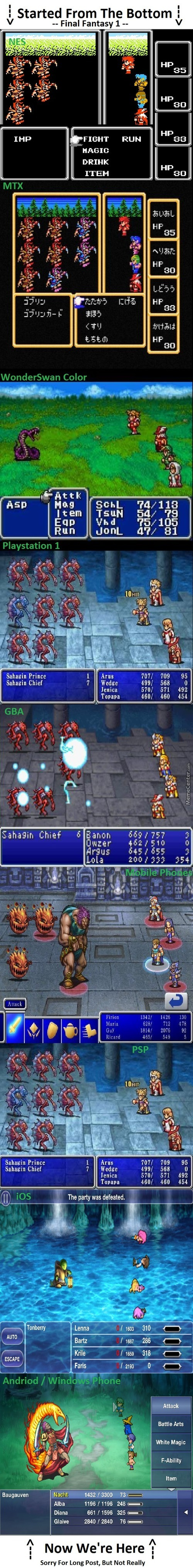 The Life Of Final Fantasy 1