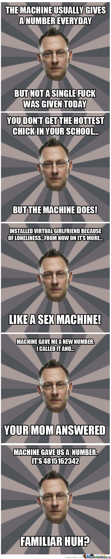 The Machine - Person of Interest Memes