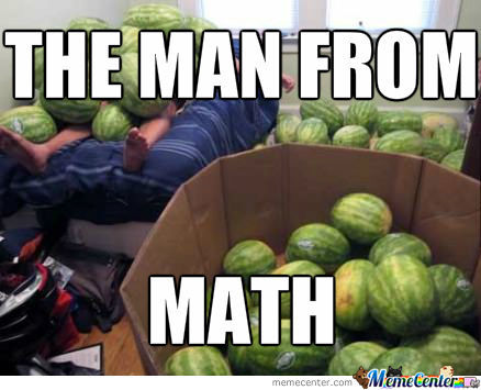The Man From Math