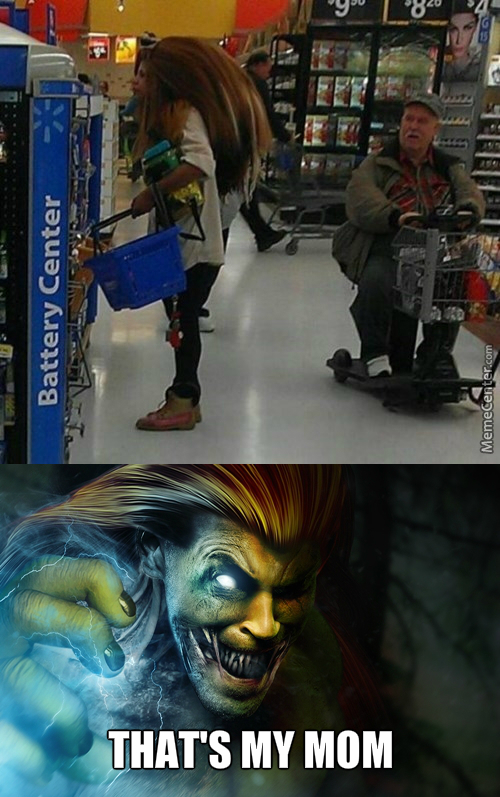 The Man Next To Her Is Like: Blanka, Is That You?