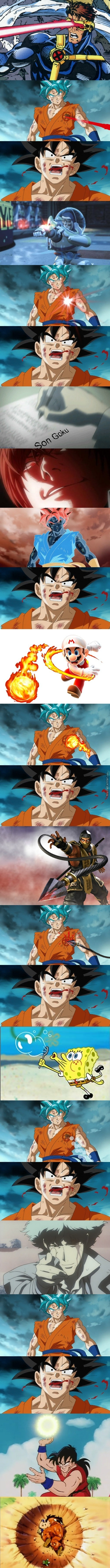 The Many Deaths Of Goku