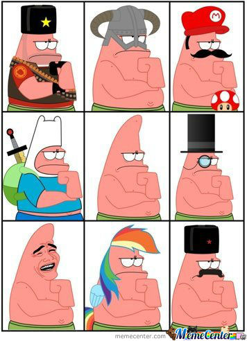 The Many Faces Of Patrick