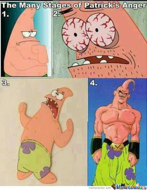 The Many Stages Of Patrick's Anger