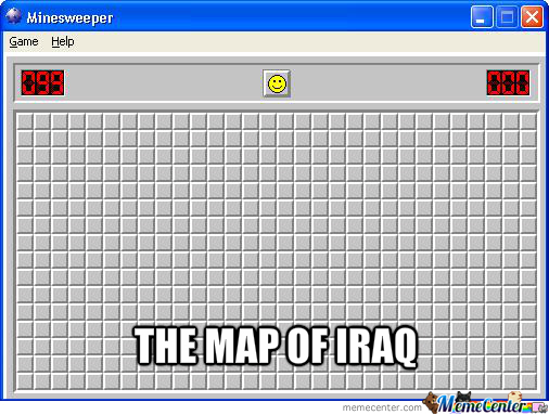 The Map Of Iraq!
