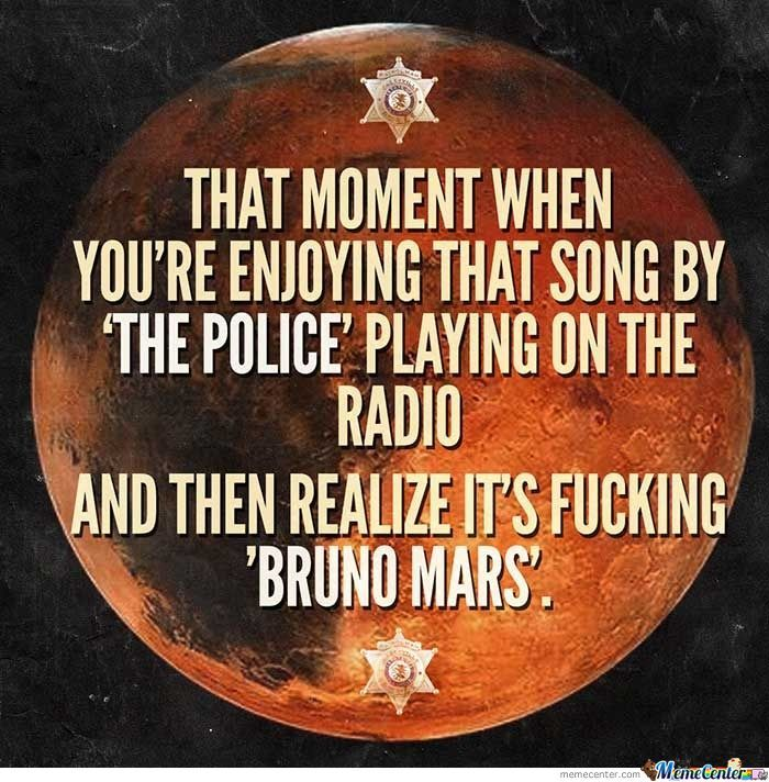 The Mars Police