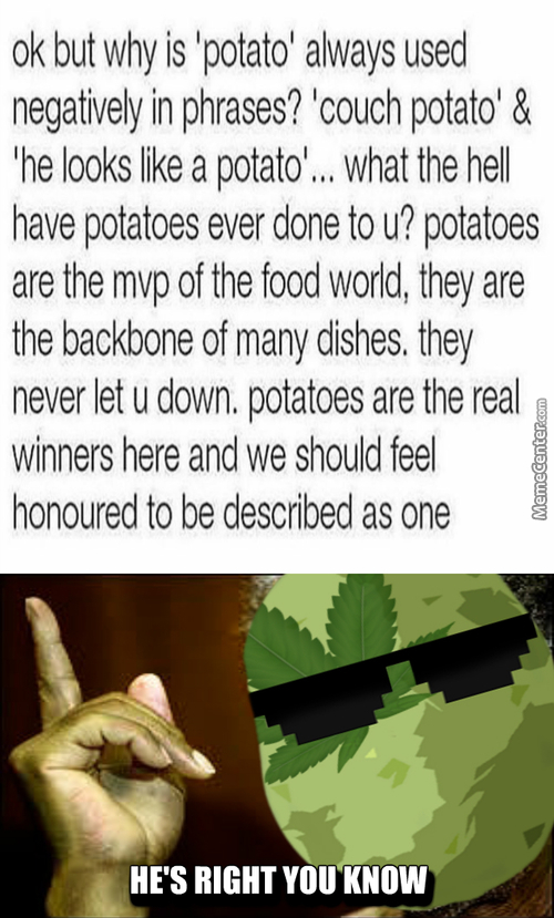 The Meme Potato