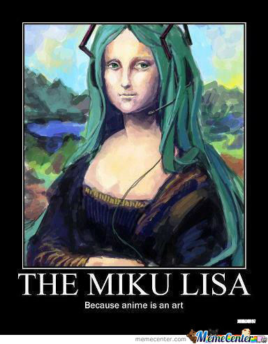 The Miku Lisa