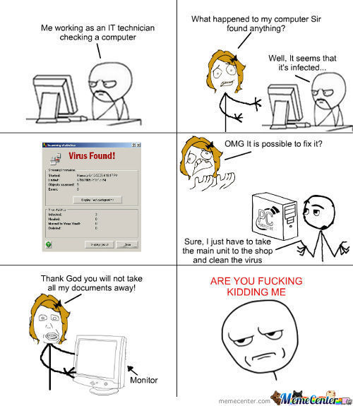 The Misadventures Of An It Technician ( Blondie Edition)