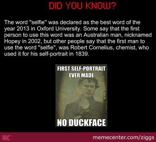 The More You Know...