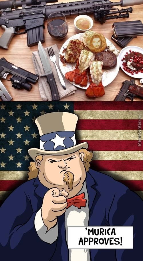 The Most 'murican Breakfast