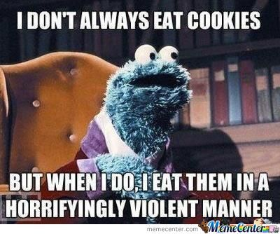 The Most Interesting Cookie Monster