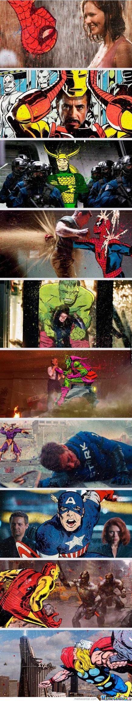 The Movie And The Comic