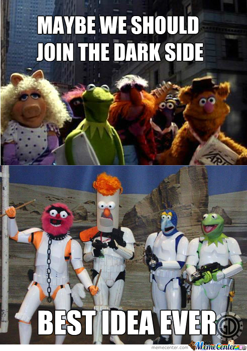 The Muppets Strikes Back