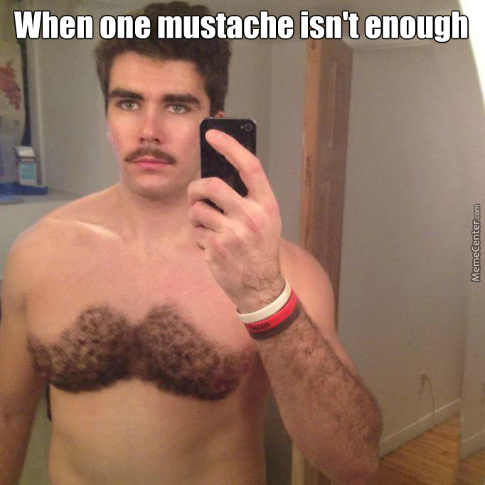 The Mustache Is Strong With This One