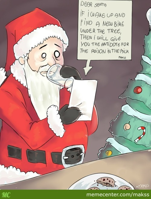 The Naughty List Shall Become My Home