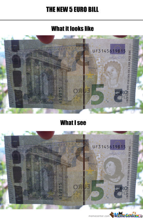 The New 5 Euro Bill
