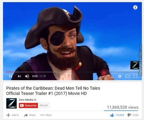 The New Pirates Of The Caribbean Looks Promising