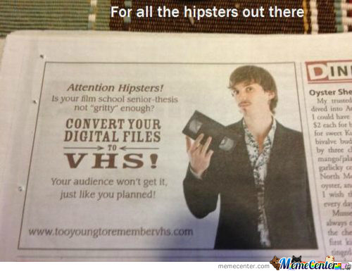 The New Wave Of Hipsters