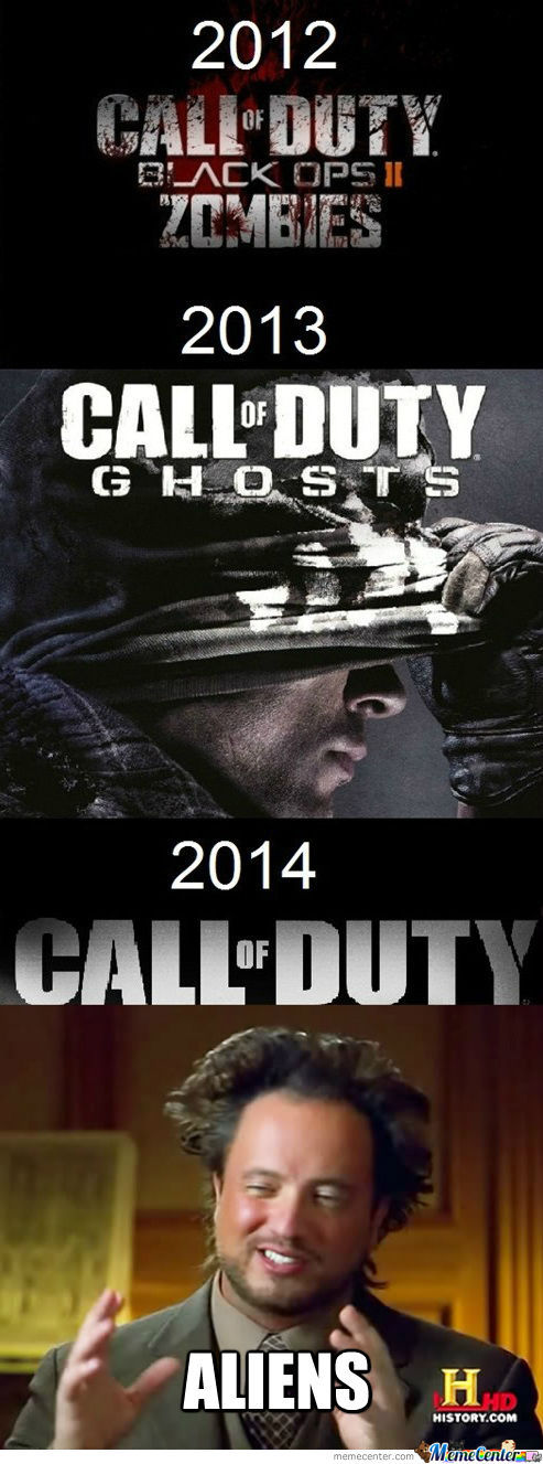 The Next Call Of Duty...