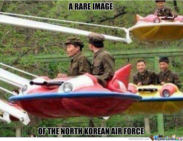 The North Korean Air Force!