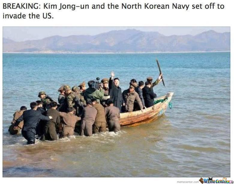 The North Korean Navy!