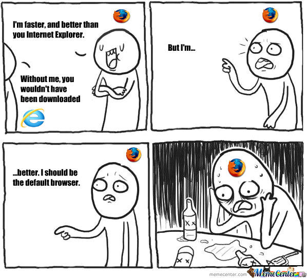 The Only Good Thing About Internet Explorer