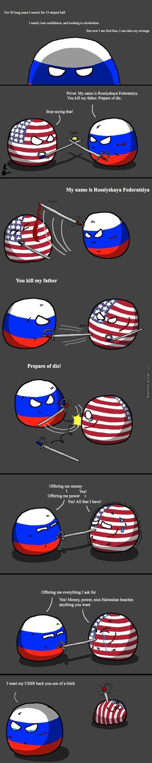 The People Who Make These Don't Understand How Capitalistc Russia Have Become, It's Trully Sad